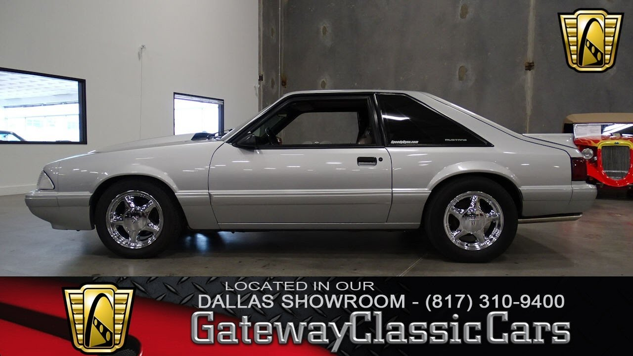 1990 Ford Mustang LX #440-DFW Gateway Classic Cars of Dallas - YouTube