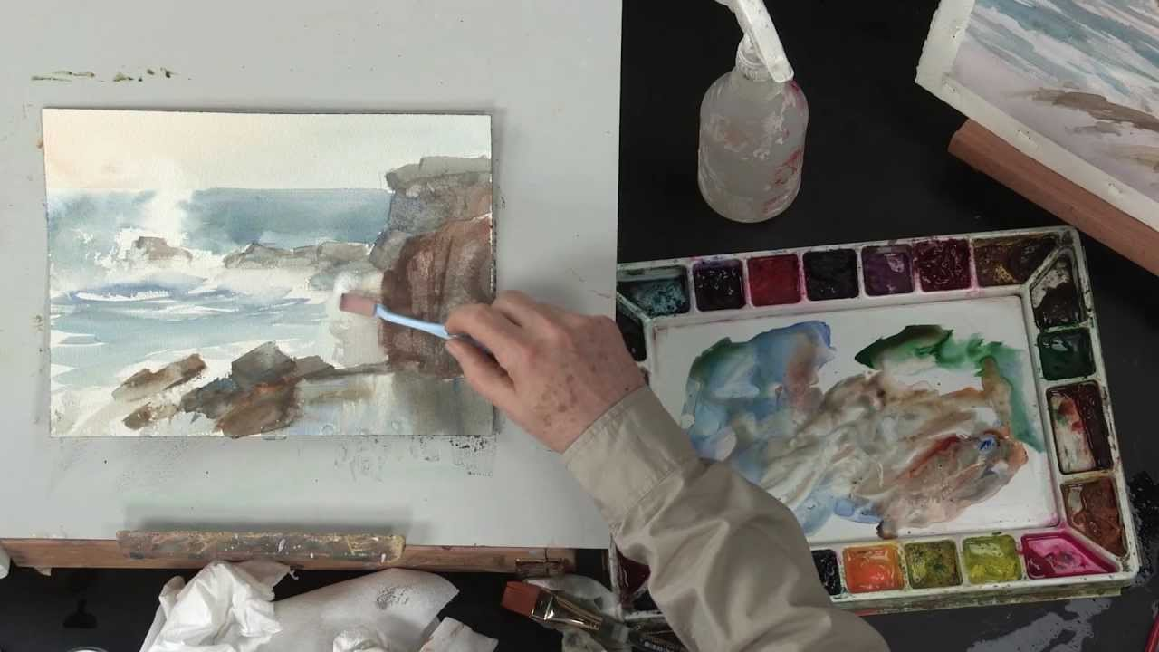 preview watercolor landscape painting essentials with johannes