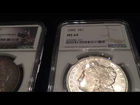 Update on my Morgan Silver Dollar Collection, NGC MS64