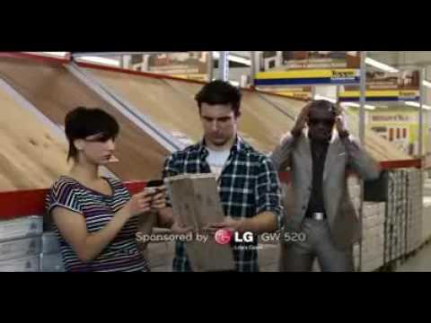 Video del LG GW520 (Spot 5 sec. serie In Touch)