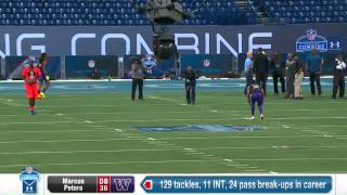 2015 Combine Workout: Marcus Peters