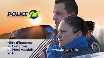 Police du Nord Vaudois - Hôte d'honneur du comptoir du Nord Vaudois 2016 Yverdon-les-Bains
