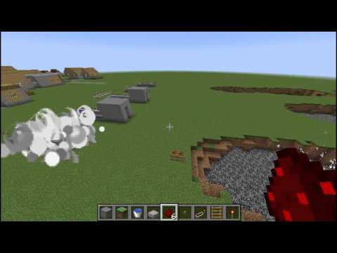 1.8 & 1.8.2 TNT Cannon Testing Minecraft