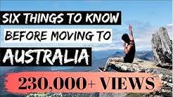 6 THINGS TO KNOW before moving to AUSTRALIA | Melbourne | Internash