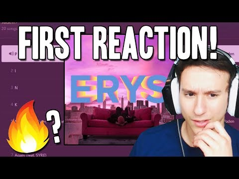 """JADEN SMITH """"ERYS"""" FIRST REACTION & REVIEW"""