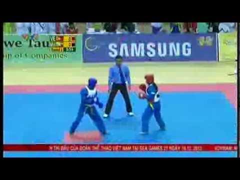 Trận đấu Vovinam, Khánh Trang, SEA GAMES  27 MYANMAR 2013