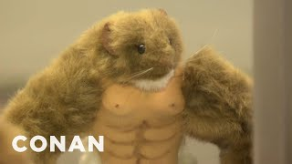 NASA's Super-Muscular Mice Have Returned To Earth - CONAN on TBS