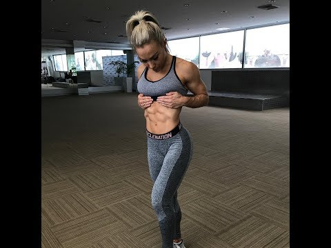 Australian fitness model girl HATTIE BOYDLE @ Workout Female Fitness & Gym Motivation