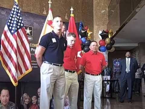 Army Olympians visit FMWRC