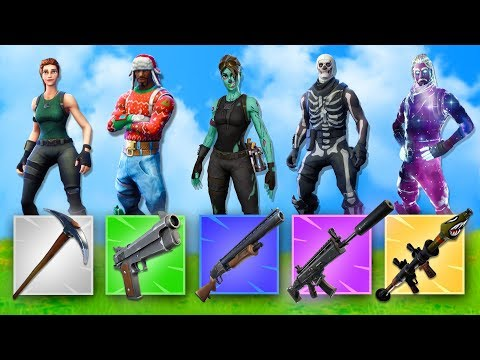 The GUN GAME 2.0 CHALLENGE! | Fortnite Battle Royale