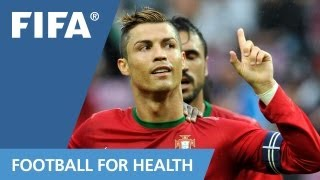 "Session 4 : Cristiano Ronaldo for ""FIFA 11 for Health"