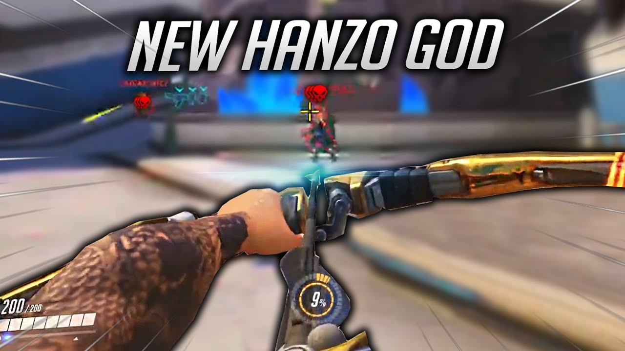 THIS is how i became a HANZO GOD....