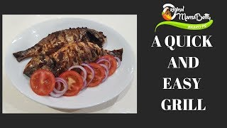 How to save time grilling your fish or meat. OMB Recipes