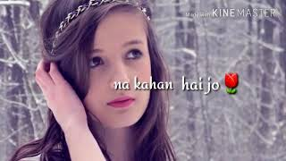 30 Second Whatsapp Status Love ¦ bas itni si tamanna hai ¦ Love status ¦ female versaion