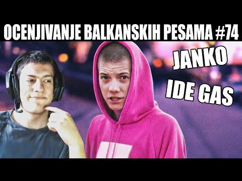 OCENJIVANJE BALKANSKIH PESAMA – JANKO – IDE GAS (Official Music Video) 4k