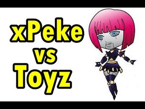 LOL Pro - xPeke vs Toyz (Orianna vs Zilean) - Korea SoloQ