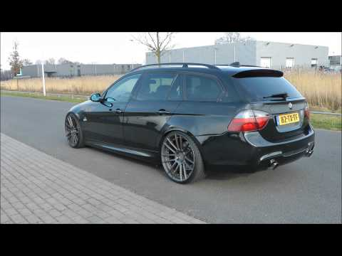 bmw 335i e91 500pk exhaust sound custom made youtube. Black Bedroom Furniture Sets. Home Design Ideas
