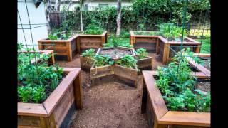 Garden Ideas raised vegetable garden bed