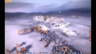 Real Warfare 2 Northern Crusades:  2vs2 battle in multiplayer -  western and rus armies