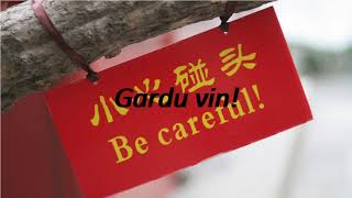 How to say Be careful! in Esperanto