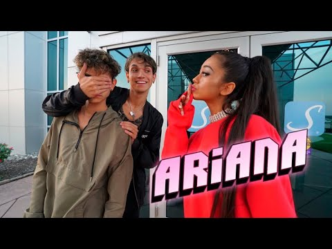 Surprising My Twin Brother With ARIANA GRANDE!
