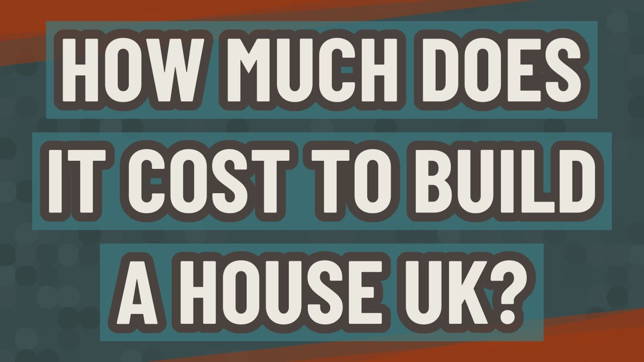 How much does it cost to build a house UK? - YouTube