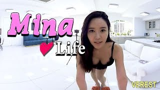 Hi~ Long time no see. I brought a new content series. mina life-aud...