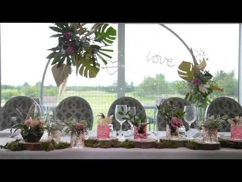 Hurlston Hall Wedding Video