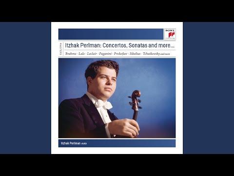 Violin Sonata No. 1 in G Major, Op. 78: III. Allegro molto moderato