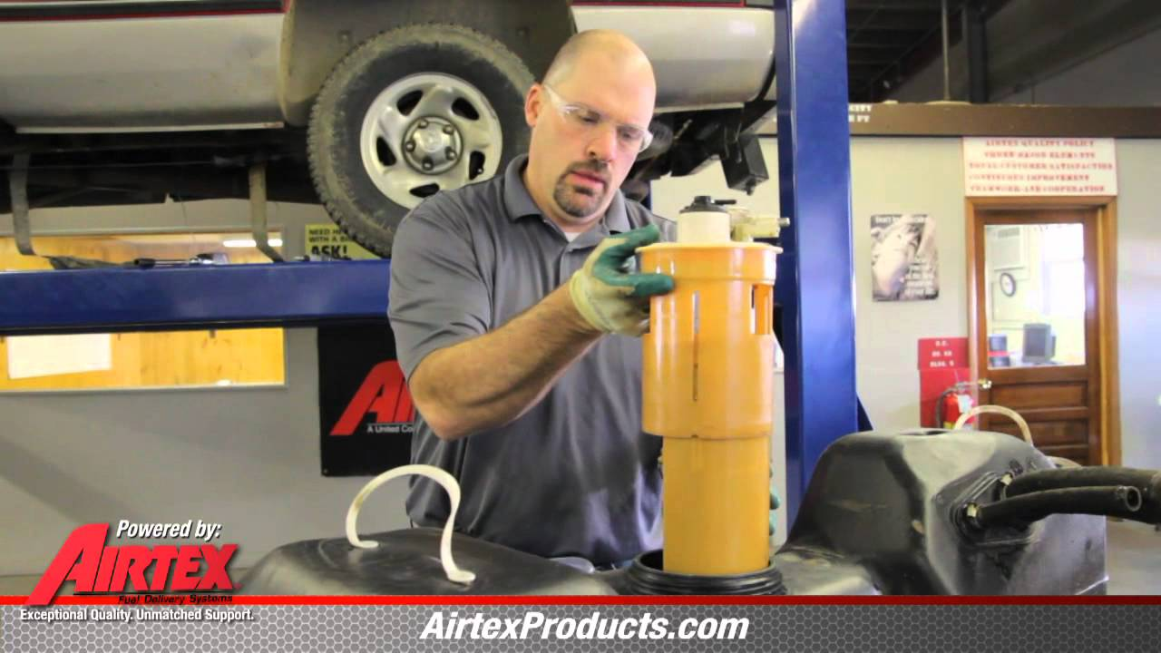 How to Replace Fuel Pump E7093M in 19961997 Dodge Ram Pickup  YouTube