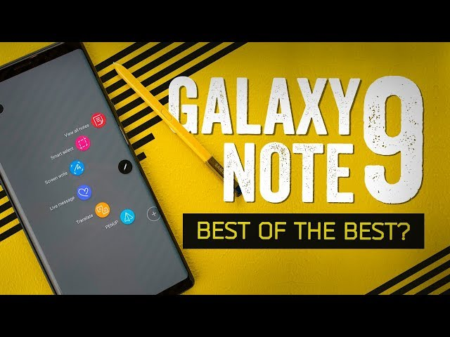 Galaxy Note 9 Hands-On: Look At This Absolute Unit
