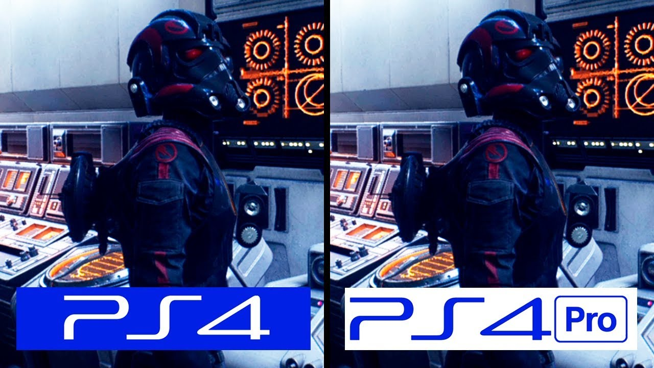 battlefront 2 ps4 pro vs ps4 graphics comparison. Black Bedroom Furniture Sets. Home Design Ideas