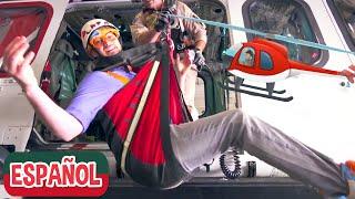Blippi Español Explora un Helicóptero de Bomberos | Nuevo Video! | Videos Educativos para Niños