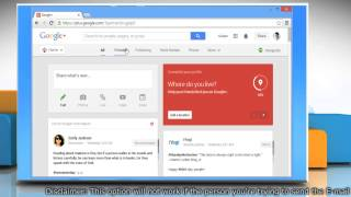 How to send Email messages to your Google™ Plus Circles