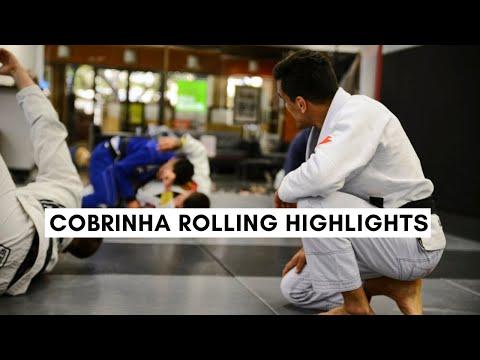 Cobrinha bjj rolling highlights!! (lapel guard and passing)