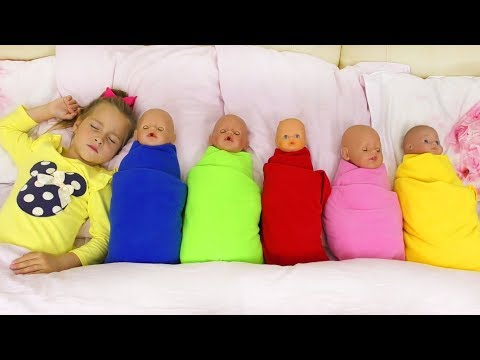 Learn colors with Baby, Pretend Play with Song Are you sleeping brother John, Nursery Rhyme for kids