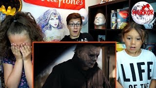 HALLOWEEN Official Trailer (2018) REACTION!!!