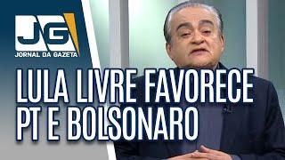 Lula livre favorece PT e reeleição de Bolsonaro