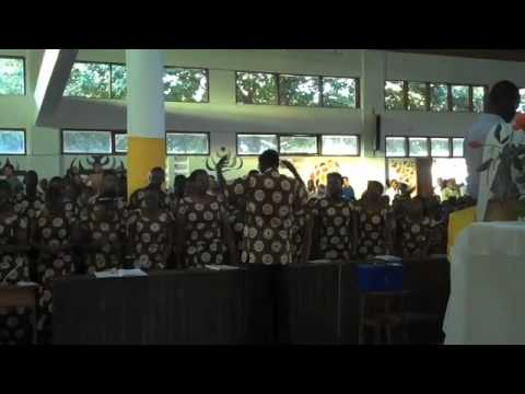 U of Dodoma RC Student Choir at Airport Parish Dodoma