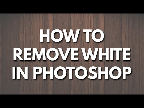 How To Remove A White Background In Photoshop