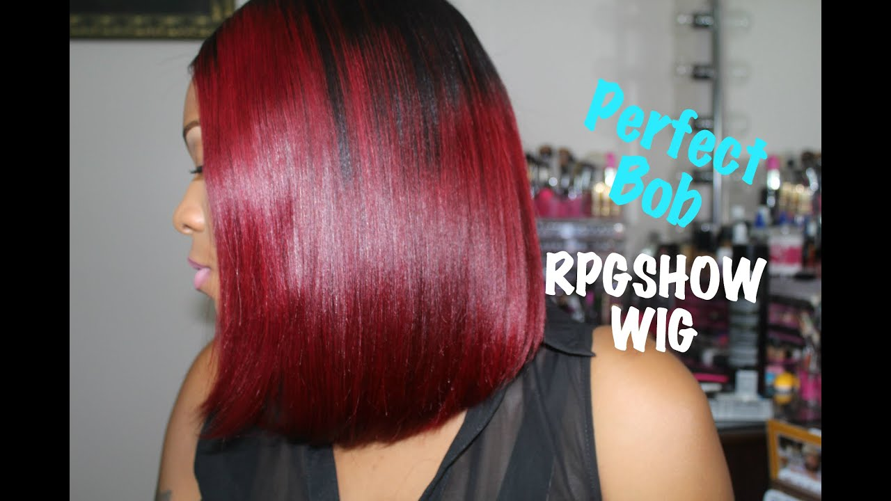 Rpgshow bob wig diy black to red ombre hair tutorial ashanti rpgshow bob wig diy black to red ombre hair tutorial ashanti sc012 s full lace wig quick weave youtube solutioingenieria Images