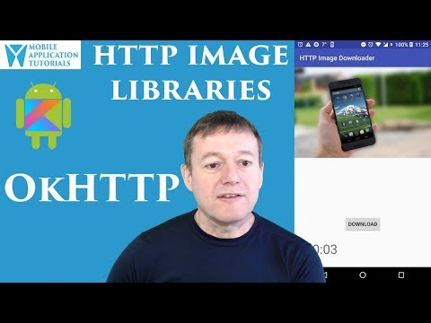 Kotlin on Android development: Image download & display using OkHttp