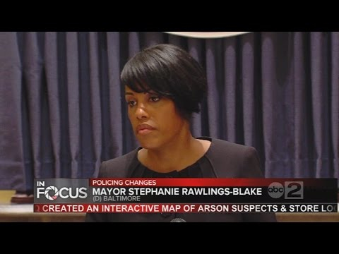 Baltimore mayor, police union search for common ground