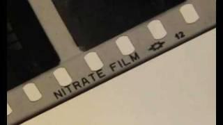 Nitrate Film Burning
