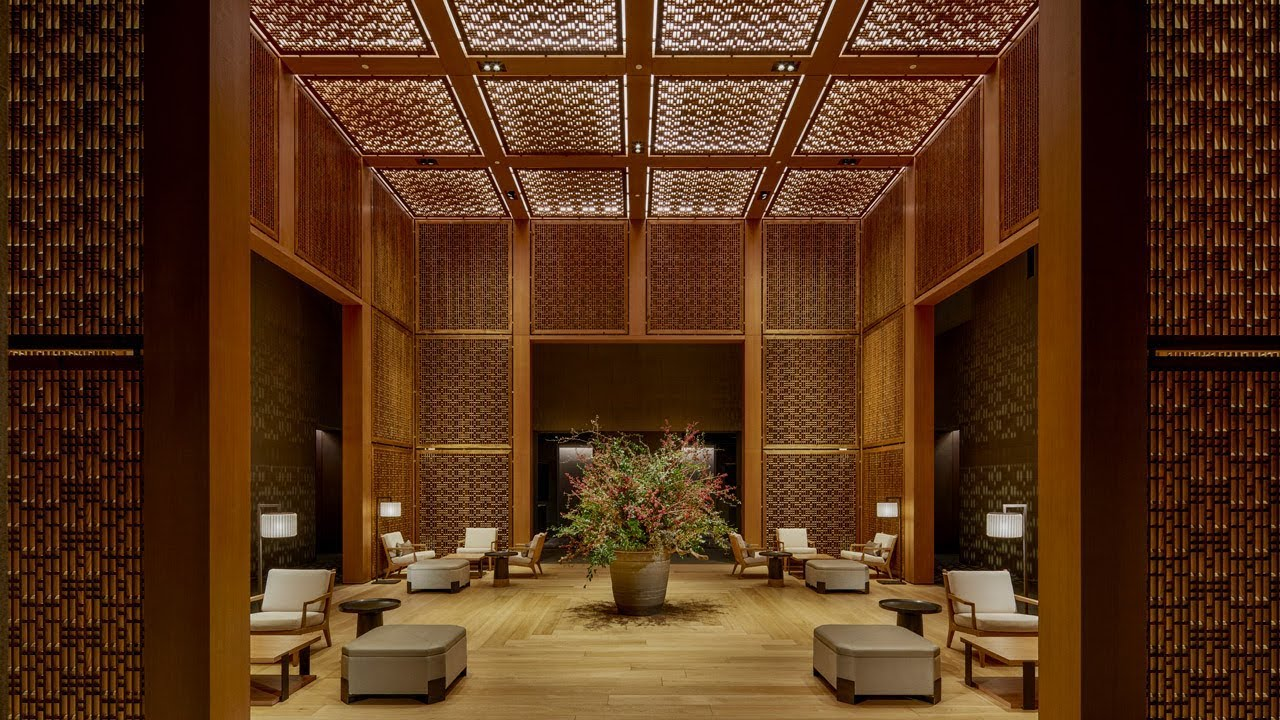 Amanyangyun resort by Kerry Hill Architects designed to be \