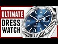 PERFECT Dress Watch For Men?  Rolex Datejust | RMRS Style Video