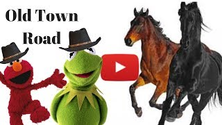 Kermit and Elmo sing old town road