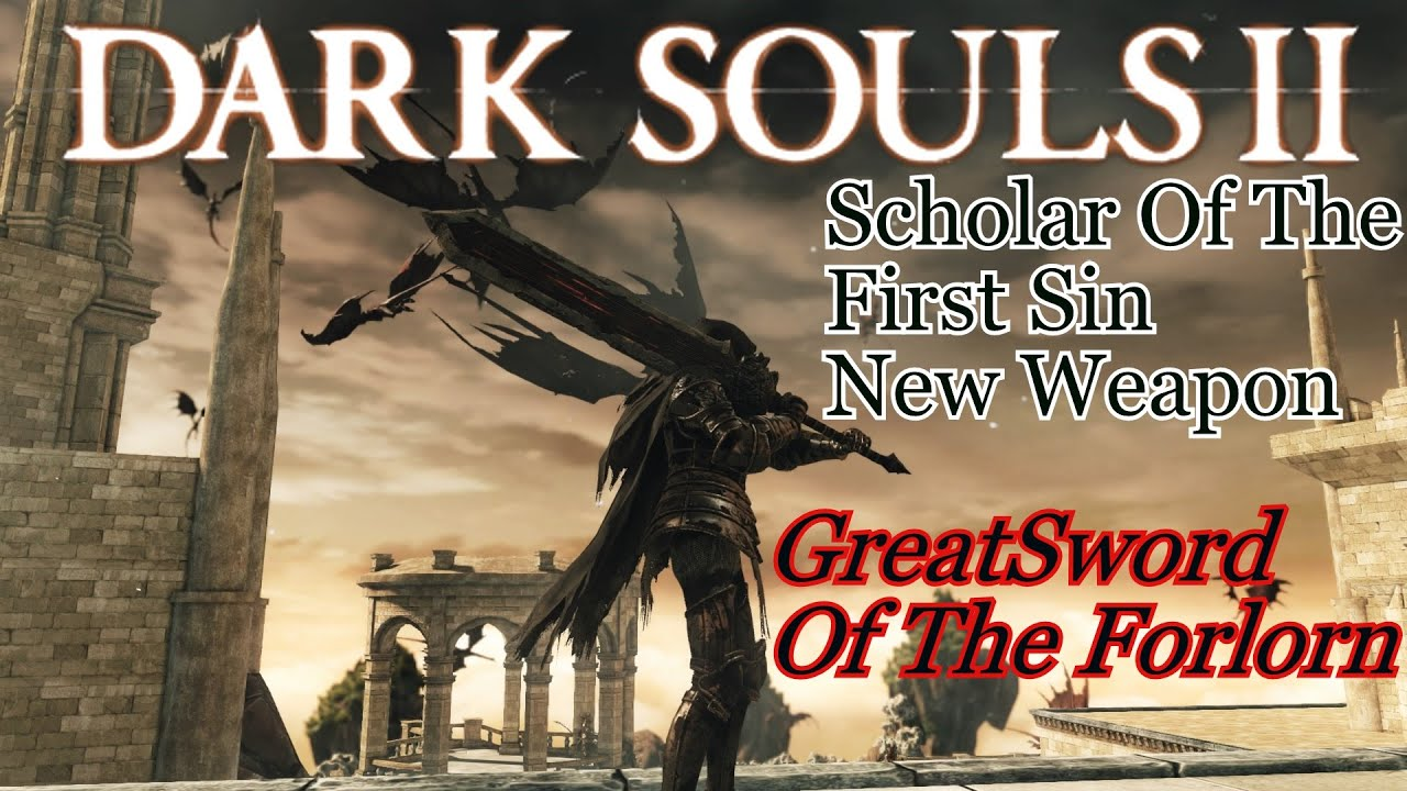 Dark Souls 2 Review: Greatsword Of The Forlorn Weapon