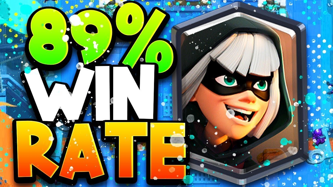 1 Deck In Clash Royale 2020 89 Win Rate Youtube