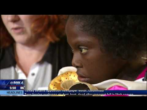 Young Caribbean girl battles rare disease